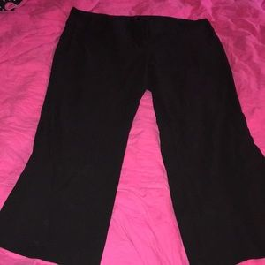 Torrid Plus Size Black Dress Pant